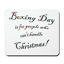 Boxing Day Mousepad