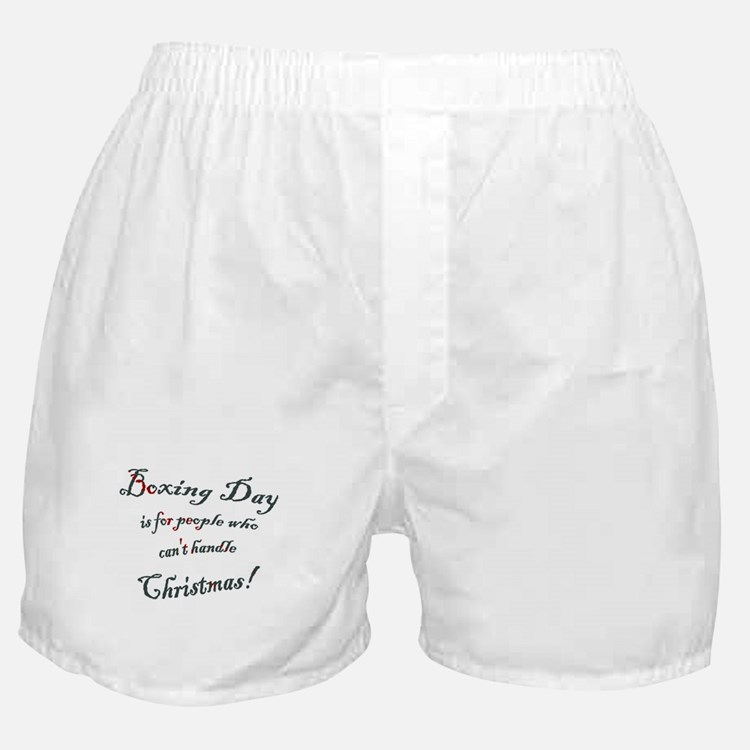 Boxing Day Boxer Shorts