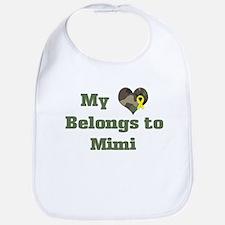 Mimi: My Heart Bib