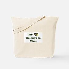 Mimi: My Heart Tote Bag