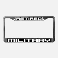 Cute Retired wife License Plate Frame