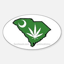 SC Medical Marijuana Movement Logo Decal