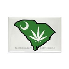 SC Medical Marijuana Movement Logo Rectangle Magne