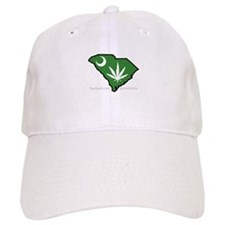 SC Medical Marijuana Movement Logo Baseball Baseball Cap