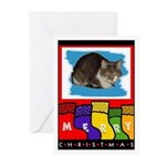 KITTY CAT CHRISTMAS Cards (Pk of 10)