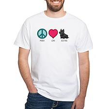 Peace Love & Scotties Shirt