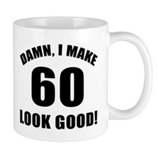 60th Birthday Humor Small Mug Small Mug