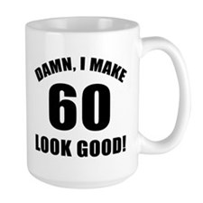 60th Birthday Humor Mug Ceramic Mugs