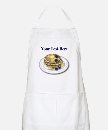 Pancakes With Syrup And Blueberries Apron