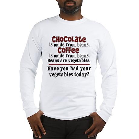 Chocolate & Coffee Long Sleeve T-Shirt