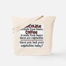 Chocolate & Coffee Tote Bag