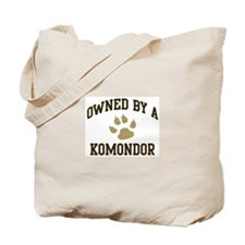 Komondor: Owned Tote Bag