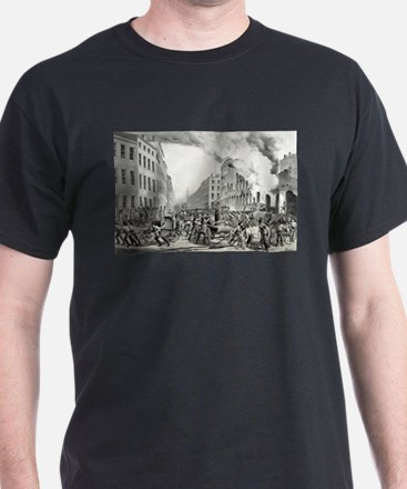The life of a fireman - the ruins - 1854 T-Shirt
