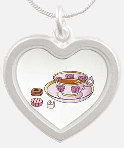 Tea and Petit Fours Necklaces