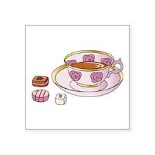 Tea and Petit Fours Sticker