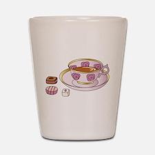 Tea and Petit Fours Shot Glass