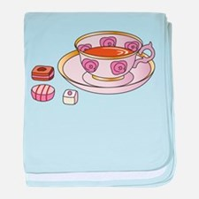Tea and Petit Fours baby blanket