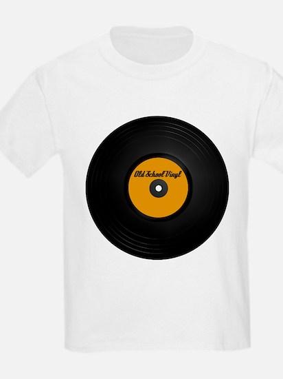 Vinyl Record Kids T-Shirt