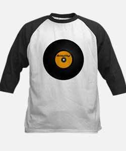 Vinyl Record Kids Baseball Jersey