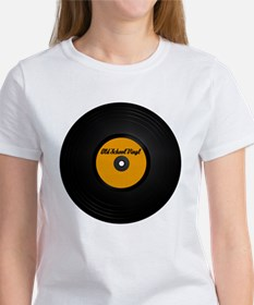 Old School Vinyl Record Women's T-Shirt