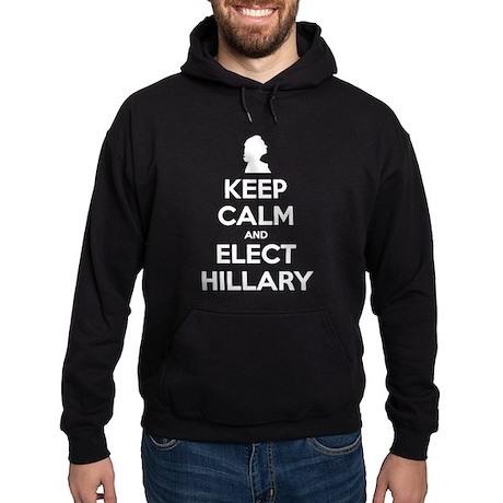 Keep Calm And Elect Hillary 2016 Hoodie