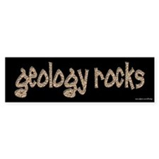 Geology Rocks Bumper Car Sticker