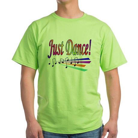 Just Dance! Green T-Shirt