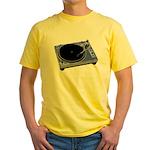 Turntable Yellow T-Shirt