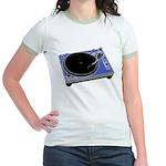 Turntable Jr. Ringer T-Shirt