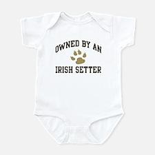 Irish Setter: Owned Infant Bodysuit
