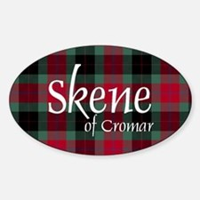 Tartan - Skene of Cromar Sticker (Oval)