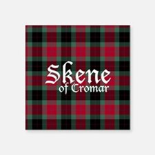 "Tartan - Skene of Cromar Square Sticker 3"" x 3"""