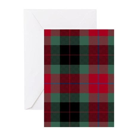 Tartan - Skene of Cromar Greeting Cards (Pk of 10)