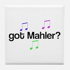 Got Mahler? Tile Coaster