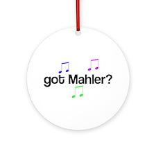 Got Mahler? Ornament (Round)