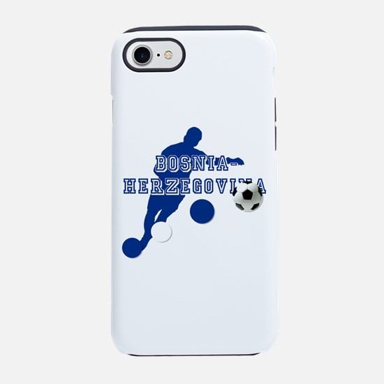 Bosnia Football Player iPhone 7 Tough Case