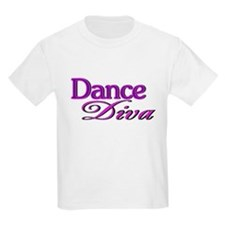 Dance Diva Kids T-Shirt