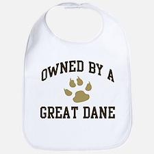 Great Dane: Owned Bib
