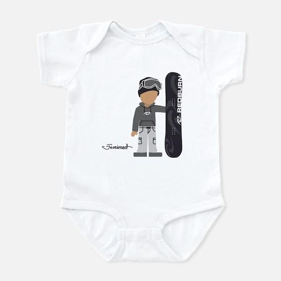 Snowboarder Cyrus Infant Bodysuit