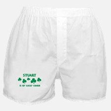 Stuart is my lucky charm Boxer Shorts