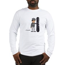 Snowboarder Cyrus Long Sleeve T-Shirt