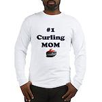 #1 Curling Mom Long Sleeve T-Shirt