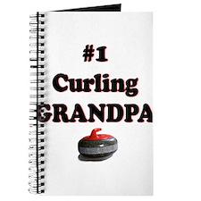 #1 Curling Grandpa Journal