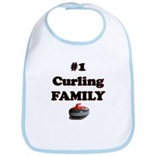 #1 Curling Family Bib