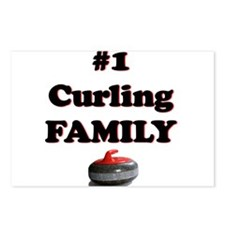 #1 Curling Family Postcards (Package of 8)