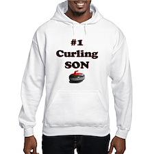 #1 Curling Son Hoodie