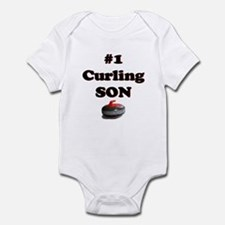 #1 Curling Son Infant Bodysuit