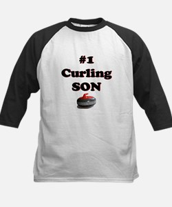#1 Curling Son Tee