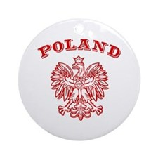 Poland Ornament (Round)