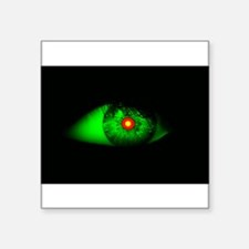 Cool Creepy Halloween Eye of Witch Sticker